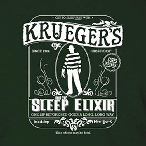 Krueger's Sleep Elixir - Stofftasche / Beutel Oliv