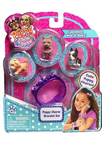 Puppy In My Pocket 14047Charm Schmuck Set (Design kann variieren)