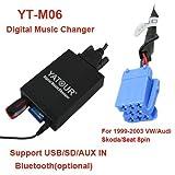 USB SD AUX MP3 Adapter für Nissan: Almera (Tino) ab 97, Primera ab 97, Micra ab 97, Navara, Note, Qashqai, Tiida, X-Trail