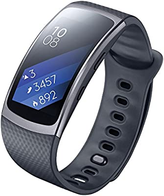Samsung Gear Fit 2 SM-R360 - Smartwatch de 1.5'' (4 GB, 1 GHz, 512 MB RAM) [Asia Version]