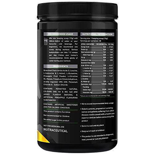 MuscleBlaze BCAA Pro - 450 g (Pineapple)
