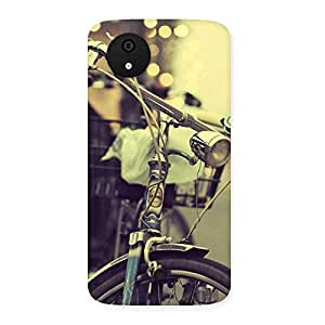 Gorgeous Bycycle Vintage Back Case Cover for Micromax Canvas A1