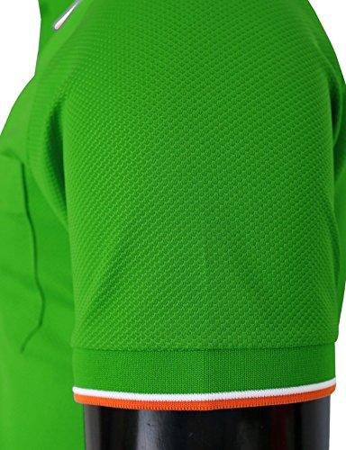 BCPOLO Männer Poloshirt Dri Fit Polo Shirt Kurzarm Verschiedene Polo Grün