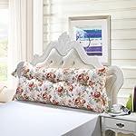 lhl-Standard, imbottitura per cuscino triangolare, grande, per letto matrimoniale, adatto anche per gli schienali, per i divani e per i cuscini per la spina dorsale