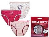 Hello Kitty Unterwäscheset 3tlg. Gr. 6/7 Jahre Unterhosen Slip HK3315