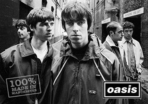 Oasis - Noel and Liam - A3 Poster Print, Unframed