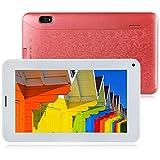 Padgene 7 Zoll 3G Tablet PC (Android 4.2, Dual Core Dual SIM, WiFi, Dual- Kamera, Bluetooth, Multi-Touch-Bildschirm) Mosaik Rückseite Phablet (071, Rosa)
