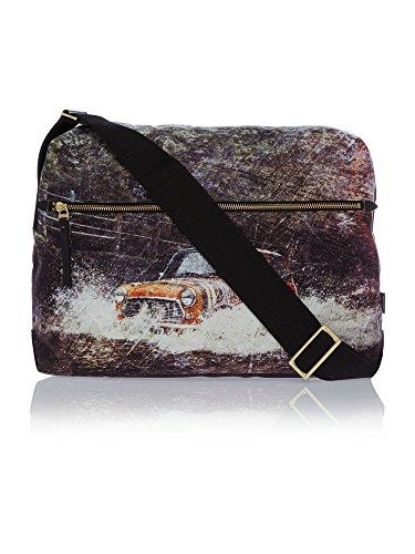 Paul Smith mini Rufford Park Splash stampa messenger/volo/borsa per computer portatile