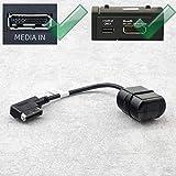 Bluetooth Adapter Kabel für Audi A5 A6 A7 A8 mit MMi 3G und AMI | VW mit MDI | Skoda mit Navigation Columbus