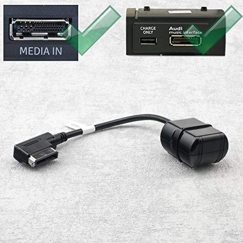 Bluetooth Adapter Kabel für Audi A5 A6 A7 A8 mit MMi 3G und AMI | VW mit MDI | Skoda mit Navigation Columbus Iphone 3g Bluetooth