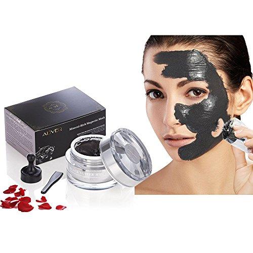 Maschere per il Viso Facciale Cura Strappando Pulizia Profonda Idratante Maschera Magnetica ricca di Minerali