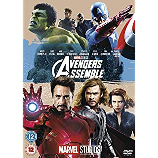 Avengers Assemble [DVD]-(Cover may vary)