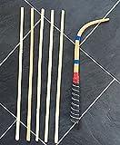 SG Musical - Professional Dagga & Tilli Set Dhol Sticks (1 Dagga & 5 Tillis)