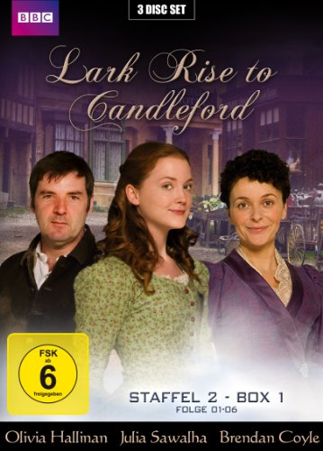 Lark Rise to Candleford - Staffel 2 - Box 1: Folge 01-06 (3 Disc Set)