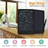 Yangers LCD Writing Tablet Kid Drawing Board, 10 Inch Large Digital Electronic Ewriter Note Pad Drawing Memo Message Graphic Board with Stylus Pen for Children (Black)