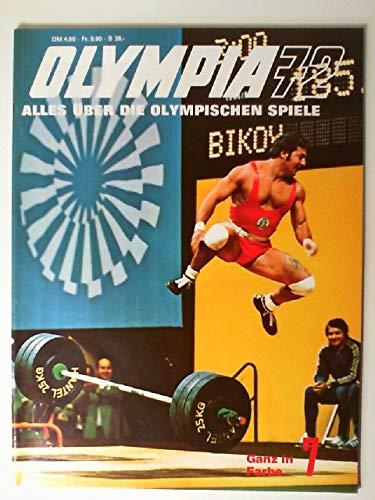 Olympia 72. Alles über die olympischen Spiele. Bildband 7. (Broschüre). (Spiele Olympischen Die)