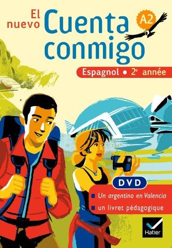 El Nuevo Cuenta Conmigo Espagnol 2e Annee - DVD, ed. 2008