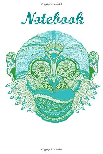 Notebook: Monkey Gorilla Homework Book Composition and Journal Diary por Retrosun Designs