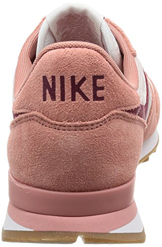 Nike Internationalist, Sneaker Donna Rosso (Red Stardust/noble Red-silt Red-gum Medium)