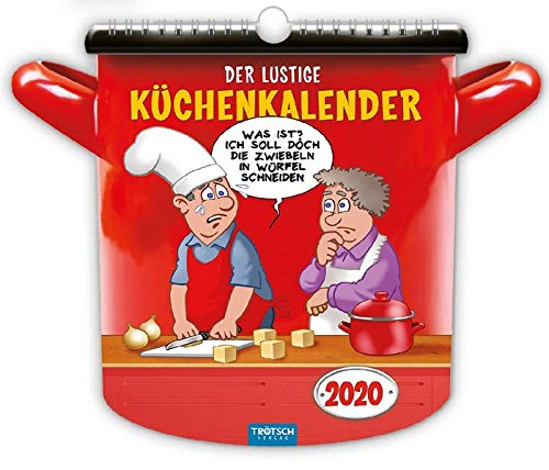 """""""Der lustige Küchenkalender"""" 2020: Lecker & Lustig! (Formkalender)"""