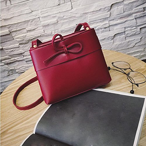 2017 Kangrunmy Donne Messenger Borse Mini Bag Shell di modo di figura Borse a tracolla Borse donna Rosso