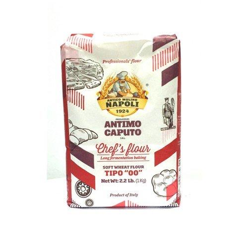 Antico Molino Napoli Chefs antimo caputo 00 Mehl 1 Kilo (2,2 Pfund) Beutel 2 Pakete