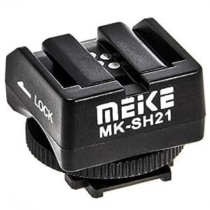 Impulsfoto Meike MK-SH21 Adaptateur sabot pour flash Sony Alpha sur les appareils photo Sony NEX