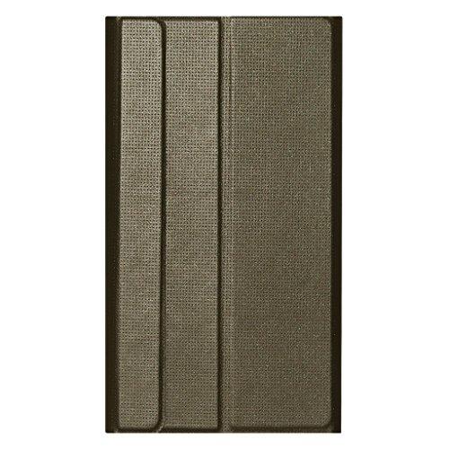 Acm Imported Designer Tri-Fold Flip Case for Lenovo Phab 6.98″ Tablet Cover Dark Gold