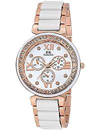 Womens Watches ( Gurukrupa Analog White Coper Girl Watch -GK 124578 )