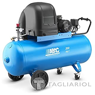 ABAC S A39B 200CT3Silenced-200L Compressed Air Motor 3HP Compressor