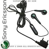 Sony Ericsson kit mains libre d'origine HPM62 hpm 62 hpm-62 Noir