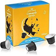 Consuelo Nespresso* compatible Capsules - Decaffeinated, 50 coffee capsules