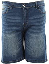 Replika - Short en jean strech REPLIKA - Replika grande taille homme 66 -  66 - e59c857d5ee