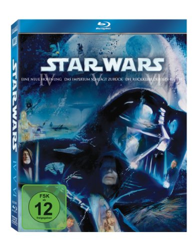 Star Wars: Trilogie IV-VI [Blu-ray] (Star Wars Blu-ray Set)