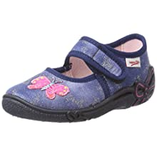 Superfit Belinda, Girls'Low-Top Slippers, (Water Kombi), 9.5 Child UK (27 EU)