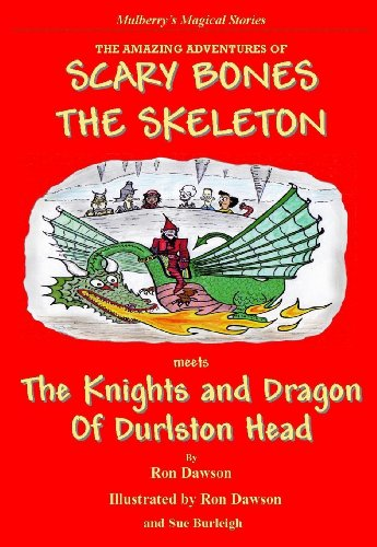 Scary Bones meets the dragon and knights of Durlston Head