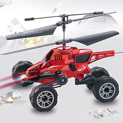 Drohnen Mit Drei-In-One Air-To-Air-Kämpfer Fernbedienung Flugzeug Ladung Kämpfer Kind Boy Aircraft,Red