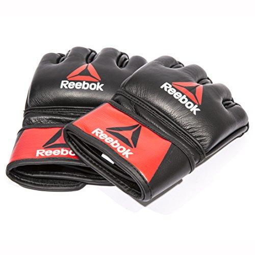 Reebok Guantes de Cuero Boxeo MMA - S