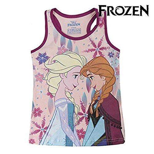 Disney Die Eiskönigin 2200002624 Mädchen T-Shirt, Tank Top, Baumwolle, Elsa, Anna (6 Jahre) (Top Disney Pooh T-shirt)
