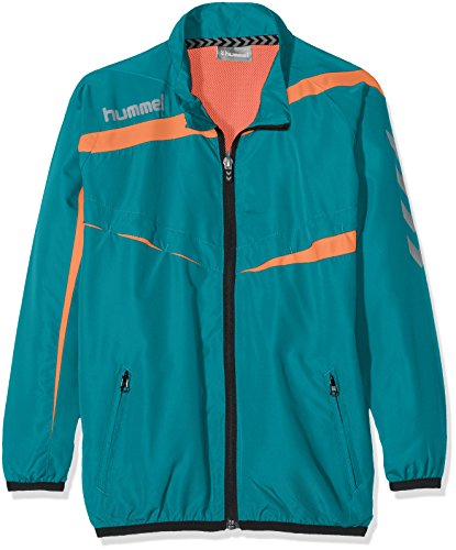 a49c149ca510 Hummel Kinder Zip Jacke Tech-2 Micro Jacket, Deep Lake, 16, 36