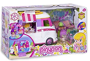 pinypon 700007354 mini poup e le van des fleurs 2. Black Bedroom Furniture Sets. Home Design Ideas