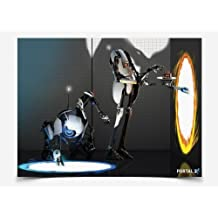 Portal 2 Atlas and Peabody Poster by Jinx