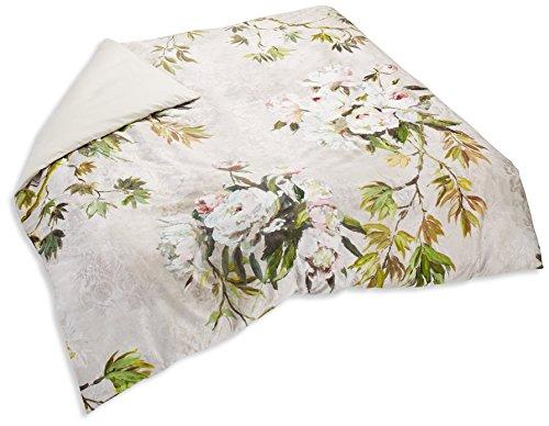 Designers Guild Floreale Housse de couette Satin de Coton Naturel 200 x 200 cm