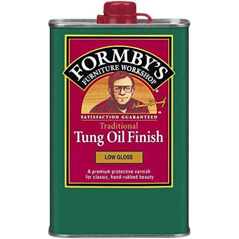 Formbys 30064 Low Gloss Tung Oil Finish,