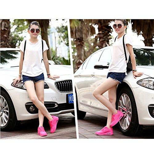 Kivors® Sportschuhe Air Turnschuhe Damen Straßenlaufschuhe Course Gym Sport Fitness Laufschuhe neue Schuhe für Mädchen Trainer Rosa