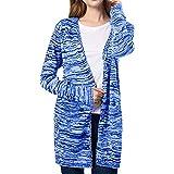 Sunnyuk Damen Cardigan Strick-Jacke dünn mädchen Stricken Jacket weit Langarm | atmungsaktiv Freizeit | frühling Herbst