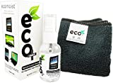 Ecomoist Natural Screen Cleaner 50ml with Fine Microfiber Towel