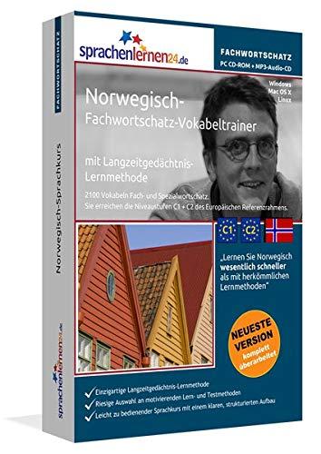 Norwegisch-Fachwortschatz-Vokabeltrainer mit Langzeitgedächtnis-Lernmethode von Sprachenlernen24:...
