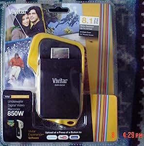"""Vivitar DVR 850W Unterwasser Digital Kamerarecorder - Gelb (8.1 Megapixels, 2.4"""" TFT Schirm, 4x Digital lautes Summen)"""