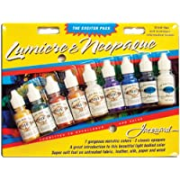 Jacquard Products Jacquard Lumiere/Neopaque Pack, 0.5 oz (pack of 9)
